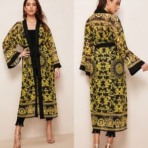Other - Open Front Belted Kimono